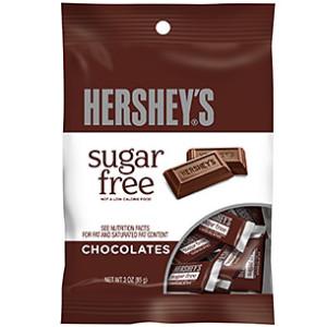 HERSHEY'S CHOCOLATE SUGAR FREE 85G