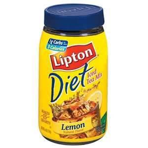 LIPTON DIET ICED TEA MIX LEMON 167G