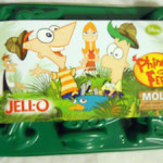 PHINEAS & FERB MOLD JELL-O JIGGLERS (MOLDES P/GELATINA)