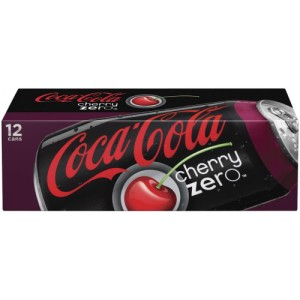 COCA COLA ZERO CHERRY 355ML 12 -PACK