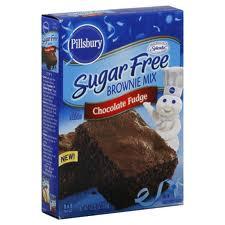 PILLSBURY HARINA BROWNIE CHOCOLATE FUDGE SUGAR FREE 350G