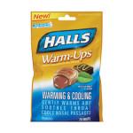 HALLS WARM-UPS MOCHA MINT FLAVOR 20 DROPS