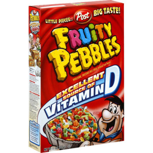 POST CEREAL FRUITY PEBBLES 311G